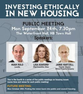 24 Sept 18 social investing in new housing public meeting
