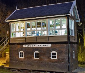 Hebden Bridge Signal box