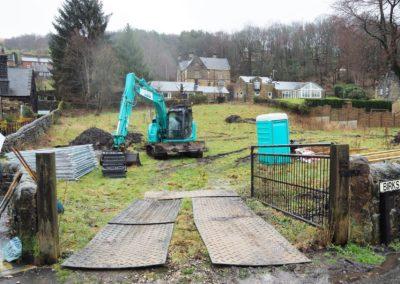 Birks Lane, Walsden Site day 1