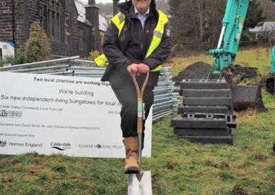 Walsden first spade
