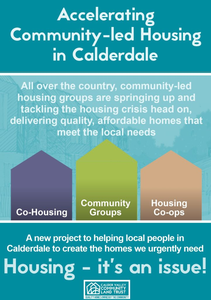 CVCLT Community-Led Homes leaflet